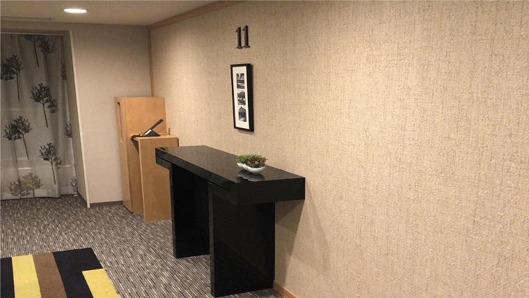 リッチモンドホテル宇都宮駅前アネックスきれいなエレベーターホール