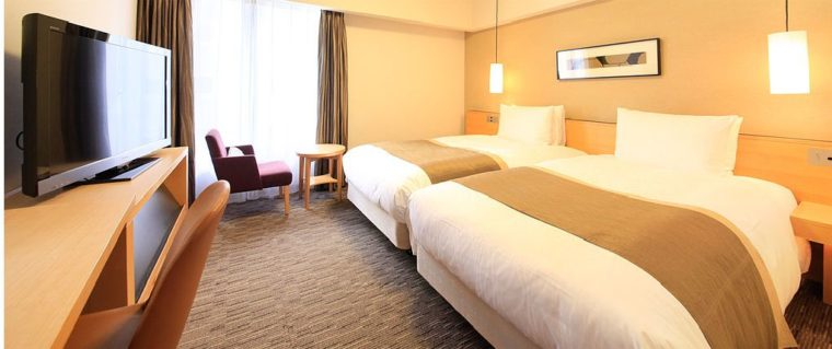 リッチモンドホテル宇都宮駅前アネックスプレシャスツインは家族で泊まっても狭くない