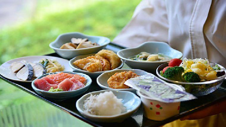 リッチモンドホテル宇都宮駅前1階にある和食会場「日本海庄や」の朝食