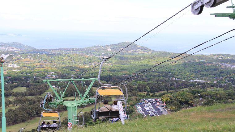 大室山登山リフトの料金や営業時間